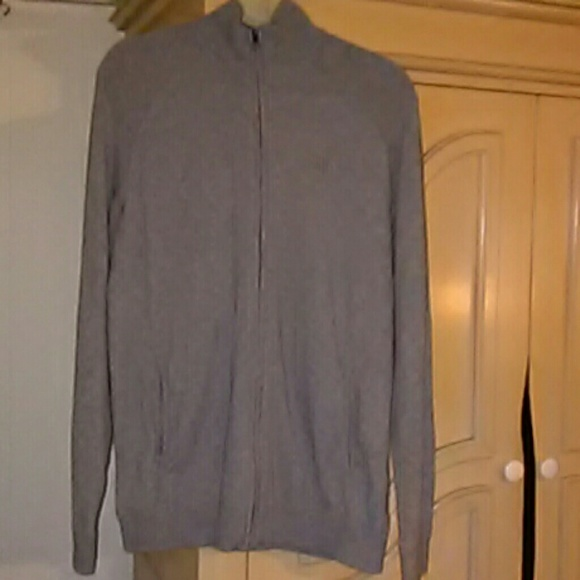 The North Face Other - The North Face Men's Front Zip Gray Sweater SZ-L